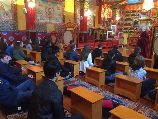 Visit to Buddhist Centre