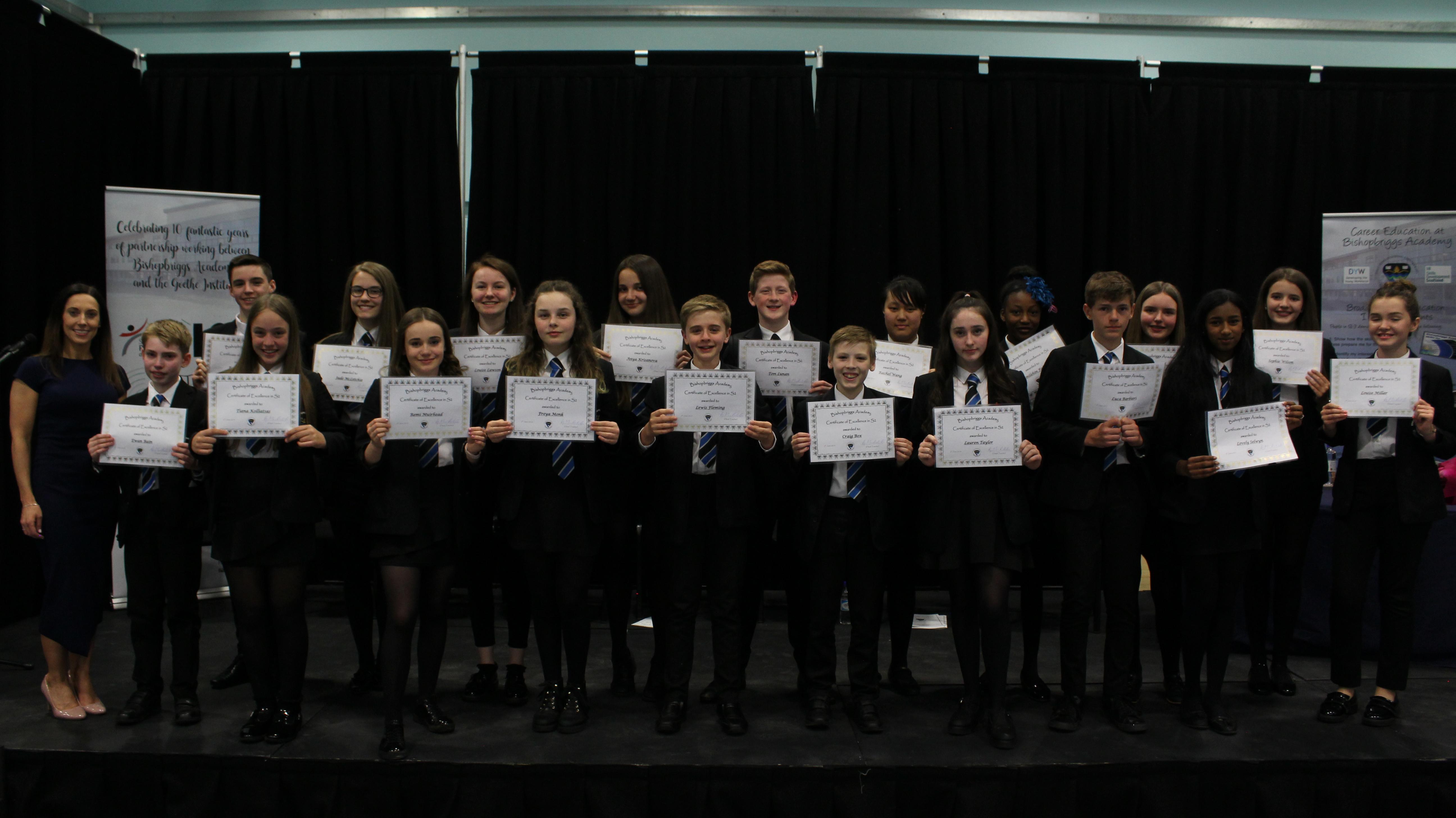 Achievements - Bishopbriggs Academy